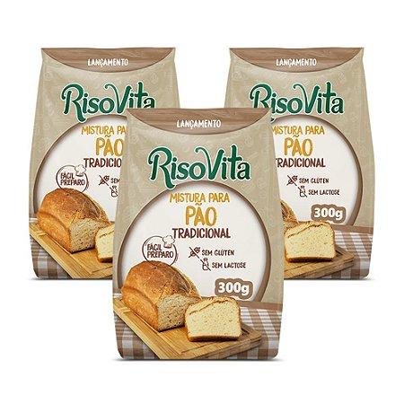 Mistura para pão tradicional Risovita 300g
