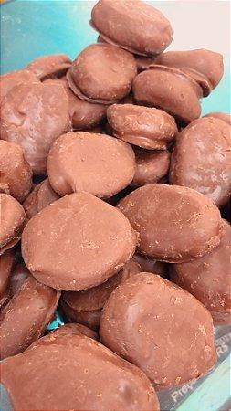 Dragee de ameixa chocolate belga 100g