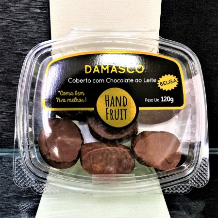 Dragee damasco chocolate belga 120g