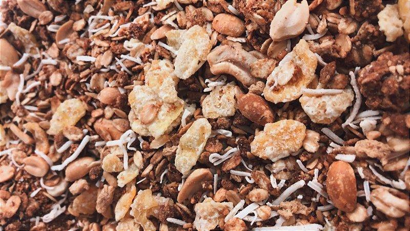 Granola de paçoca premium 1kg