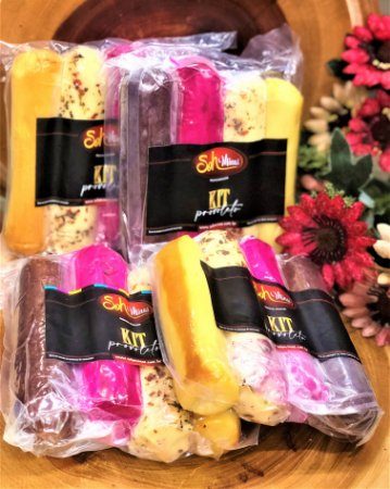 Kit provoleto 4 queijos