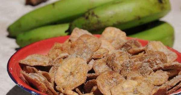 Banana chips com canela 100g