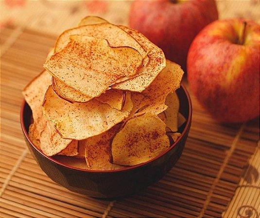 Chips de maçã com canela 100g