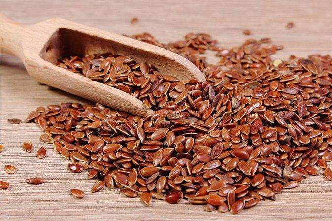 Linhaça marrom semente 100g