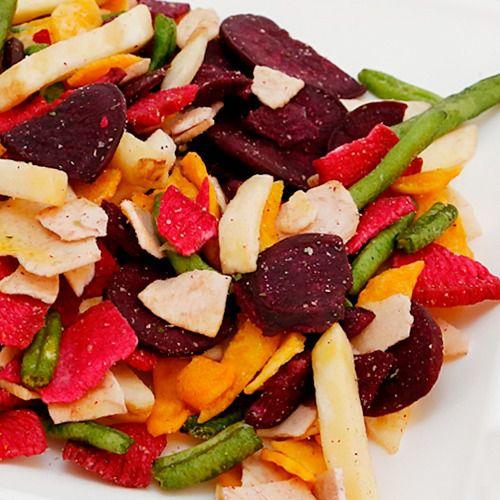 Chips mix de legumes 100g