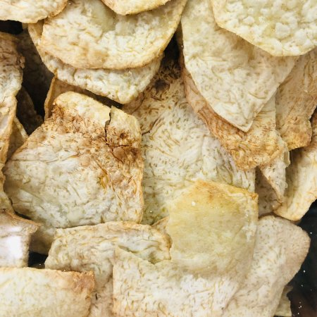 Chips de inhame com barbecue 100g