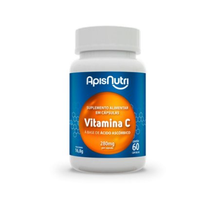 60 Cápsulas de Vitamina C