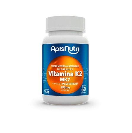 60 Cápsulas de Vitamina K2 MK7