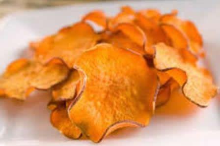 Chips de batata doce laranja 100g