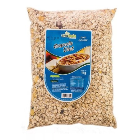 Granola diet Zero Açúcar 1kg