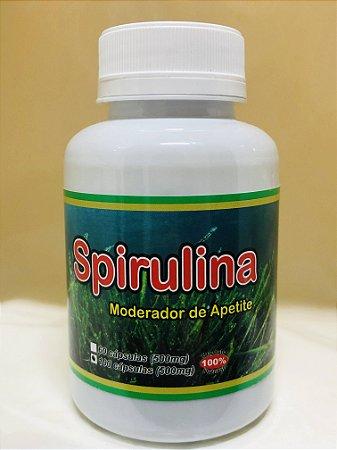 100 Cápsulas de Spirulina