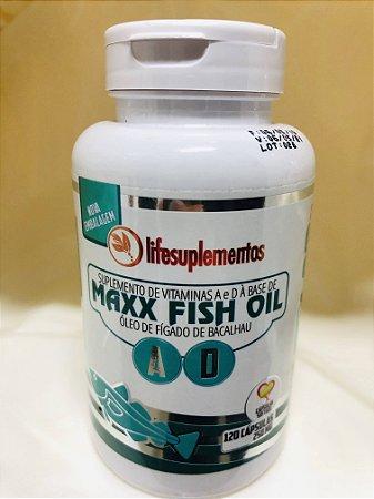 120 Cápsulas de óleo de fígado de bacalhau