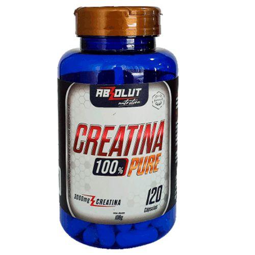 120 cápsulas de creatina