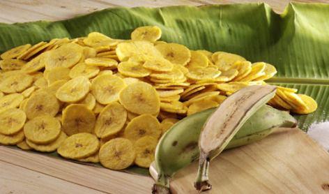 Banana chips natural 100g