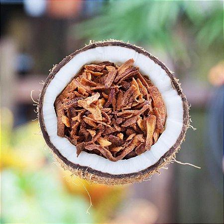 Crispy de coco saborizado 100g