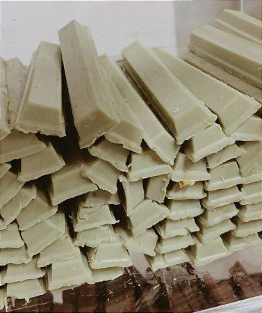 Chocolate branco com pistache 100g