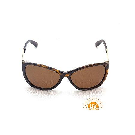 Óculos de Sol Estampa Tartaruga Marrom Afrikan
