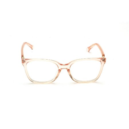 Armação para Óculos de Grau Quadrado Acrílico Rosa