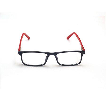 Armação para Óculos de Grau Infantil Masculino Preto