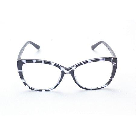 Armação para Óculos de Grau Feminino Acetato Estampado