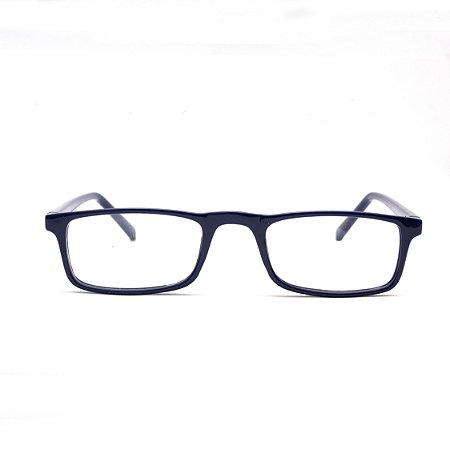 Armação para Óculos de Leitura Azul Acetato