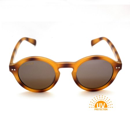 Óculos de Sol Feminino Oval Acetato Tartaruga Afrikan