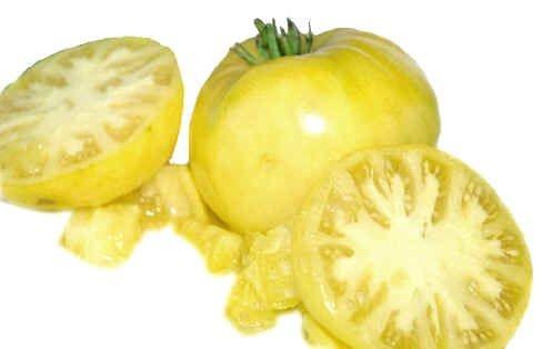 Sementes de Tomate Great White Beefsteak ORGÂNICO: 20 Sementes