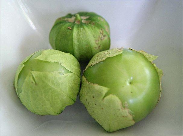 Sementes de Tomatillo Verde ORGÂNICO: 20 Sementes
