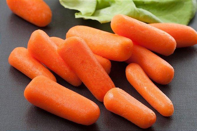 Sementes de Cenoura Baby: 50 Sementes
