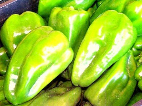 Sementes de Pimentão Verde: 50 Sementes