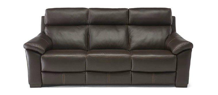 Sofá U334 10KQ com três assentos elétricos reclináveis - 2,56m- Natuzzi Group