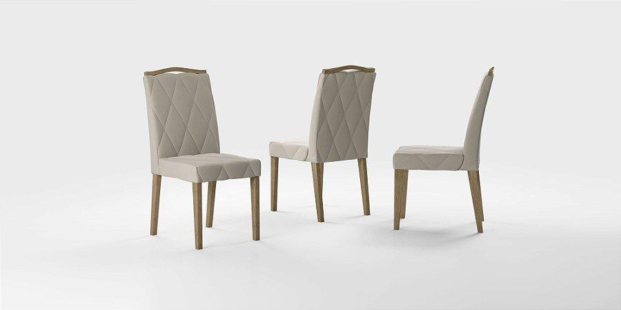 Cadeira sd04 bella nell com bordado und