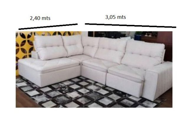 SOFA SD02-FRATER KONF CHAISE  3,05 X 2,40 MTS
