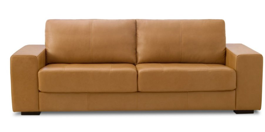 Sofa como sd02 100% couro (art)