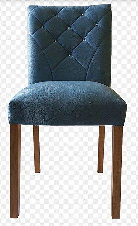 Cadeira de Jantar Camila com Strass