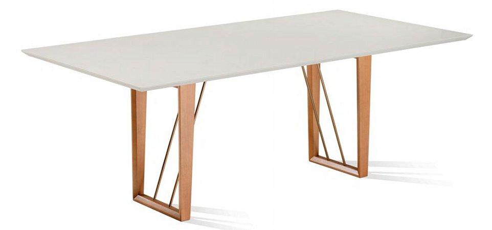 Mesa de jantar sd03- base sar c/ tampo flor unive