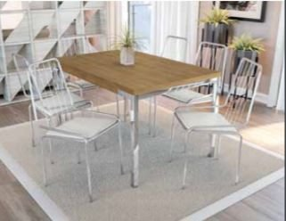 Mesa com 6 cadeiras m038