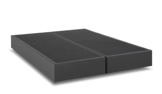 Base Cama Box Londres Cinza King Size 1,93 x 2,03 mts