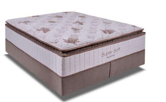 Cama Box Casal Queen Mola Ensacada Paris 1,58 x 1,98 mts
