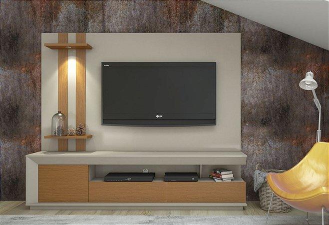 """Home Theater Luigi com Led para TV até 55 """"  220 mts"""
