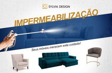 Impermeabilização conjunto sofá 03 e 02 lugares