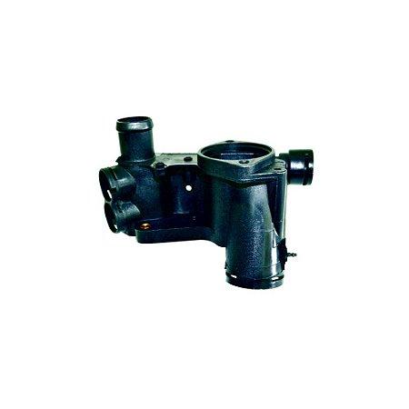flange cavalete da valvula termostatica gol / parati - carcaça