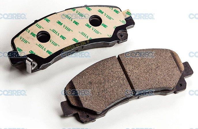 Pastilha de freio chevrolet s10 / trailblazer dianteira n390 cobreq
