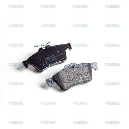 Pastilha de freio ford focus / volvo traseira original cobreq n187