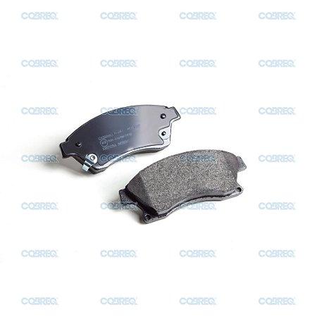 Pastilha de freio cruze dianteira original cobreq n-384