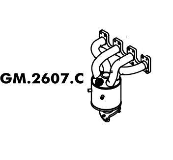 Catalisador (Conversor) Catalítico C/ Sonda Agile 1.4 2009 / 2014