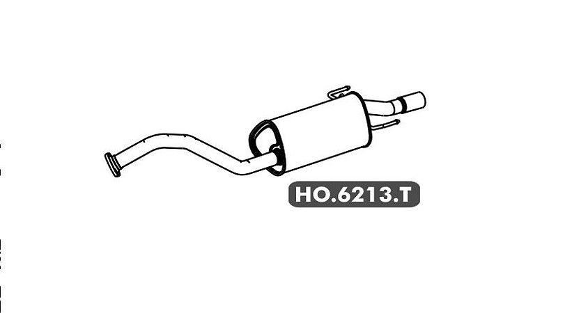 Silencioso Honda City 1.5 16V Gii 2009 A 2014 Traseiro
