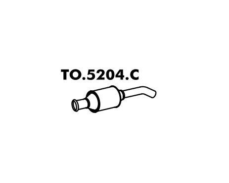 Catalisador Toyota Corolla 1.8 98 A 2002