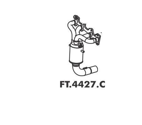 Catalisador Doblo 1.4 Evo 2010 A 2016