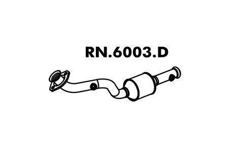 Catalisador Clio 1.0 8V Hatch / Sedan 99 A 2012